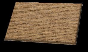 Zebrano - Cork Floor Tiles