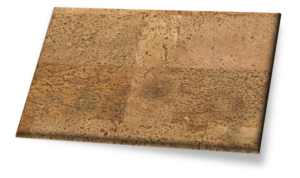Merida II (Wall) - Traditional Gluedown Cork Wall Tile. Unfinished.