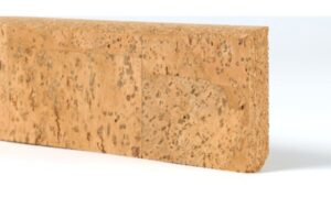 Massive Cork Skirting Board